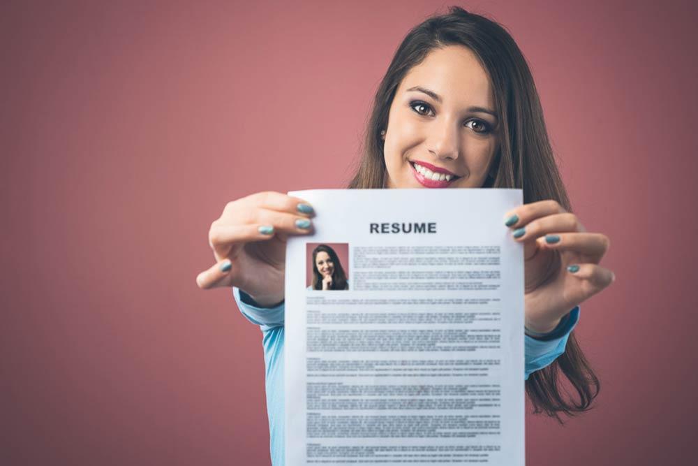 Bewerbungsunterlagen für Karrieremessen