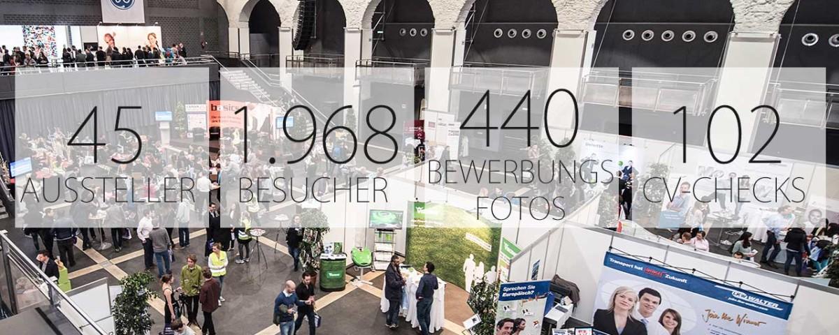 CAREER & Competence Karrieremesse in Österreich: in Zahlen