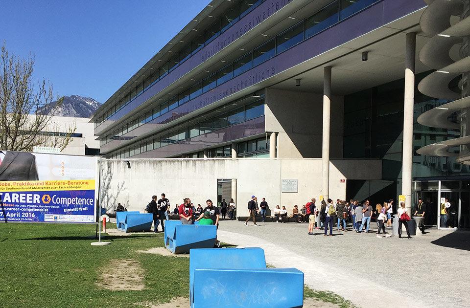 Hochschulstandort und Universitätsstandort Tirol Karrieremesse
