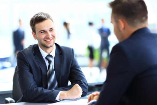 richtiges Vorstellen auf Karrieremessen