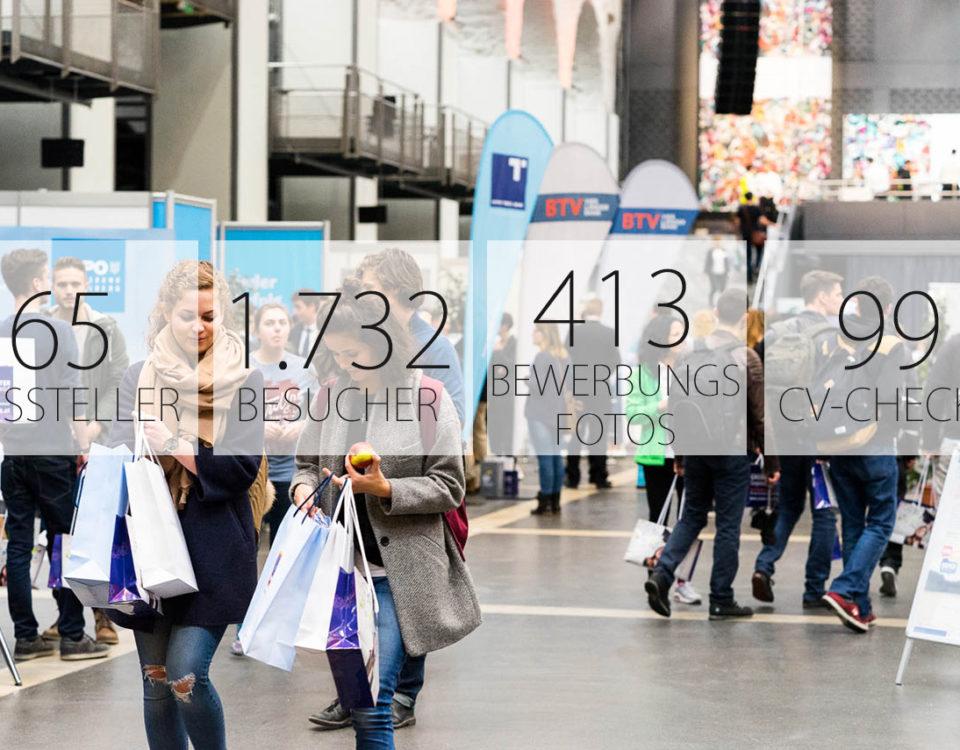 CAREER & Competence 2017 - die Karrieremesse in Österreich - Zahlen & Fakten