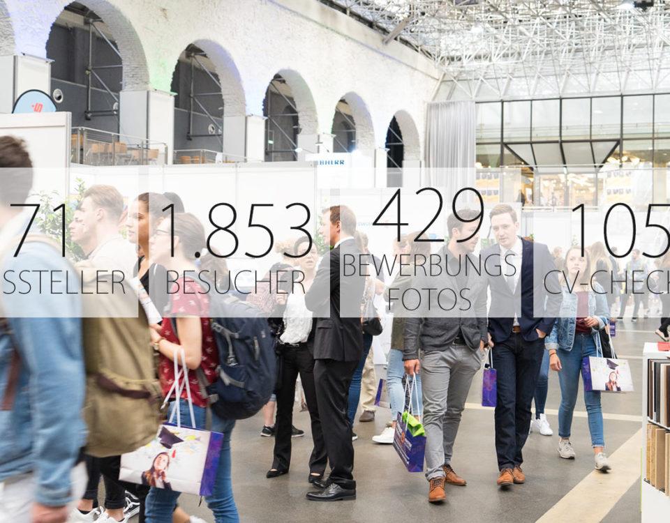 West-Österreichs größte Karrieremesse in Zahlen
